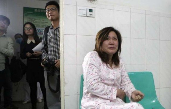 """PICTURED: Grandma Lu Yuanxiu, 57 A Chinese mum who nursed her dying son for two years even though she was seriously ill herself has been cured after doctors used the boy's kidney when he died to save her life. The tragic story started when Chen Xiaotian from Jinzhou city in Hubei province in central China was diagnosed as having a malignant brain tumour aged just five. He was treated and given an operation and for a few months it seemed that everything was well, but then the tumour returned with a vengeance and doctors told his parents there was little chance he would survive. In addition his mother Zhou Lu, 34, had been diagnosed as suffering from kidney failure that left her permanently ill and in need of dialysis treatment. Despite her illness however she continued to care for her son, taking him for regular treatment at the hospital as he gradually worsened. Eventually he became blind and shortly before he died had become bedridden and virtually paralysed, with his mother and grandmother having to do everything to care for him. Grandma Lu Yuanxiu, 57, said: """"The doctors approached me rather than his mother because of the sensitive nature of the issue. They told me that my grandson not survive but his kidneys could help his mother and also save to other lives as well. """"I discussed it with Zhou and she refused point-blank, she absolutely didn't want to hear any talk of that happening."""" But the Gran had enlisted the help of her grandson who had told his mother: """"I want to save your life."""" In tears, his mother had agreed to the doctor's proposal saying that what changed her mind was the thought that if her son was to die, part of him would live on in her. Doctors confirmed that the tissue match was perfect and when he died on April 2, he was quickly moved to the operating theatre where his kidneys and liver were removed donated to his mother and two other people. The second kidney went to a 21-year-old girl and his liver to a 27-year-old man. Hospital spokesman Yi T"""