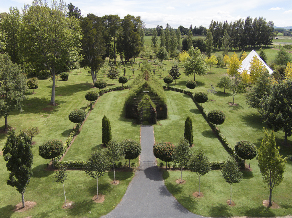 A living cathedral built on 3 acres of lush green lawns.