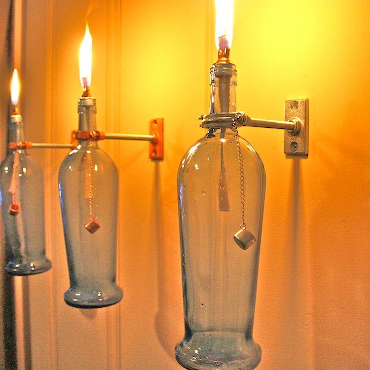 Creative Ways To Reuse Old Glass Bottles Around The Home