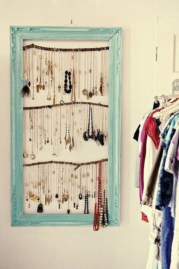 creative-jewelry-solution-necklaces-hanging-in-frame