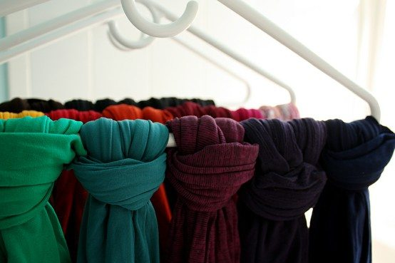 scarves-on-hanger