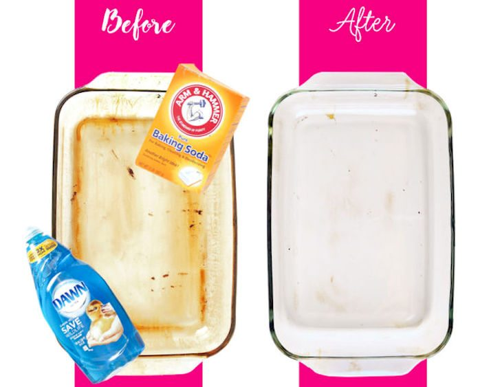 Here S The Most Effective Way To Clean Stained Bakeware