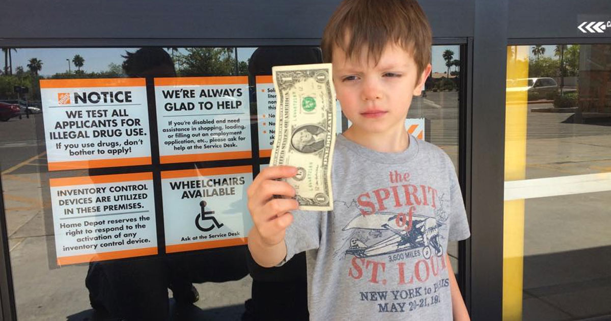 Boy With Autism Has Meltdown At Home Depot Then Employee Buys Him Ice Cream
