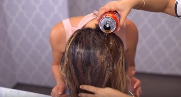 coke-in-hair