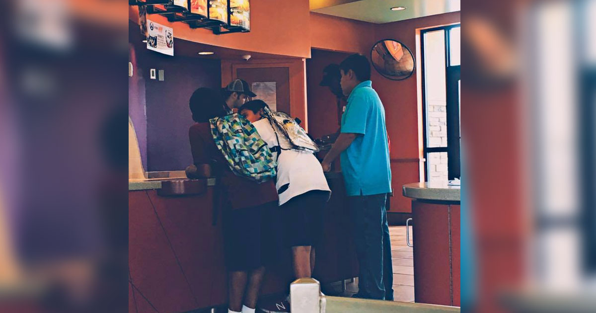 Boys Stare At Menu, But Don't Order. Then A Stranger Steps Up And Leaves Them Speechless