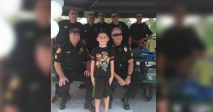 north_port_officers_celebrate_boy_with_autisms_birthday_featured