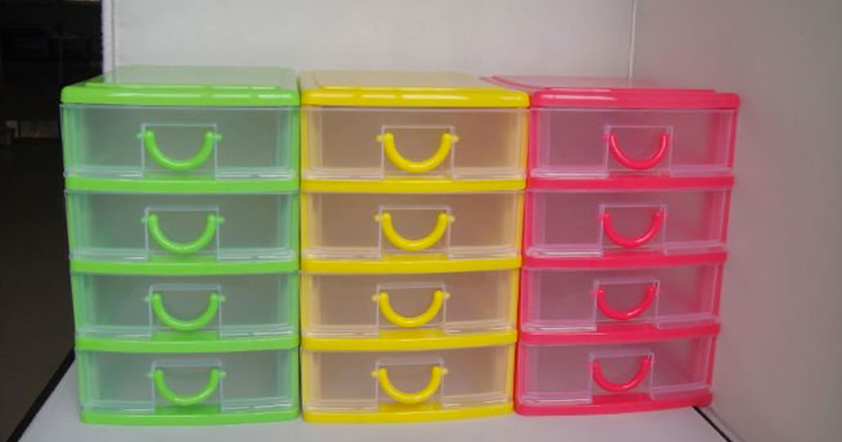 Plastic Shelving With Drawers Fortuna Drawer Container