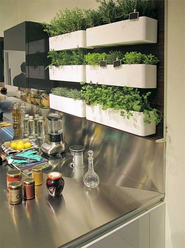 12 lovely indoor herb gardens that are perfect for any home – 101 ...