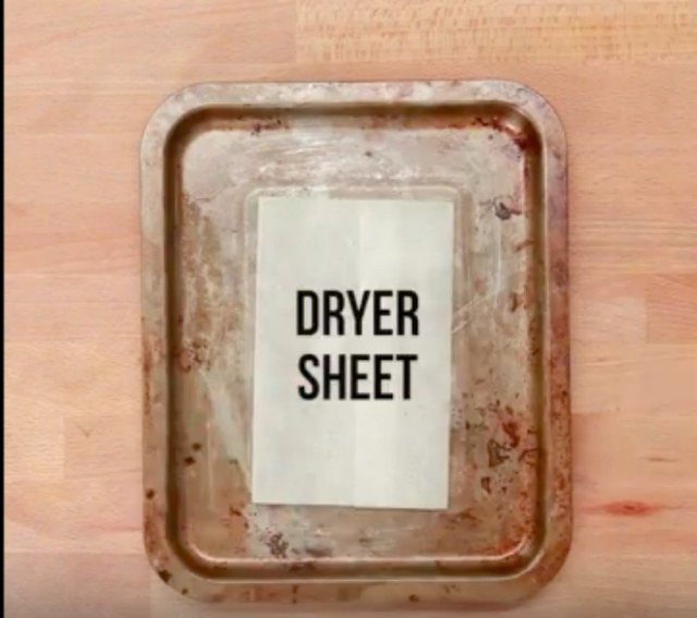 dryer-sheet-in-pan