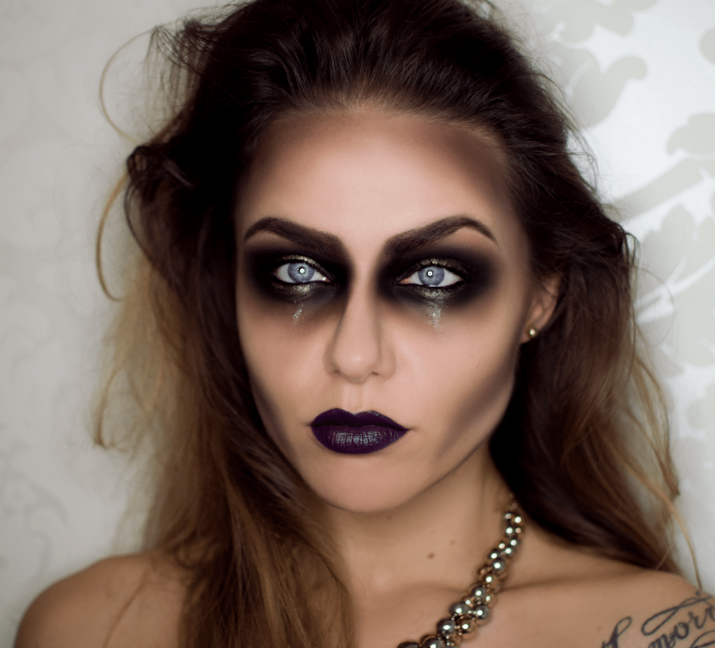12 halloweeninspired eye makeup looks