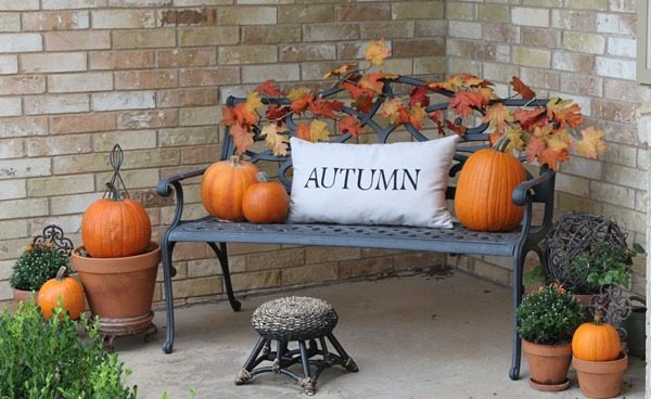 another easy way to decorate is just getting some pumpkins and keeping it simple this holiday season